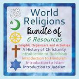 World Religions Bundle of 5 Resources