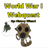 World War I and the United States Webquest (Great Website)