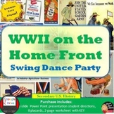 World War II on the Home Front-Swing Dance Activity