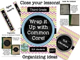 Wrap it Up with Common Core (ELA 3rd grade)