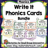 Write It Phonics Cards Bundle