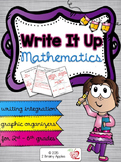 Write It Up: Graphic Organizers to Integrate Writing & Math