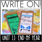 Write On! Unit 11: End of the Year (Descriptive Writing Le