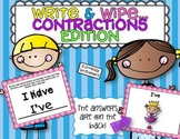 Write and Wipe...Contractions Edition