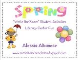 Write the Room Literacy Center - Spring