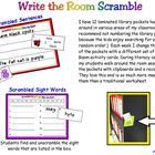 Write the Room Scramble
