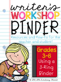 Writer's Workshop Binder Resources: For the Teacher AND th