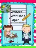 Writer's Workshop Paper