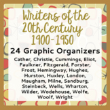 Writers of the Early 20th Century (1900-1950) - 24 Graphic