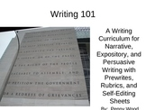 Writing 101 A Writing Curriculum