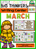 Writing Center March (16 Writing Activities and 178 Pictur