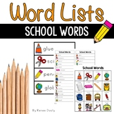 Writing Center Tools- School Words