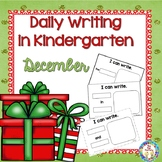 Writing ~ Daily Writing in Kindergarten (Dec.)