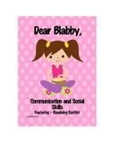 Writing: Dear Blabby Set One