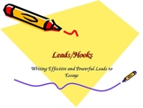 Writing Effective Hooks/Leads in Essays