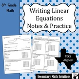 Writing Function Rules NOTES