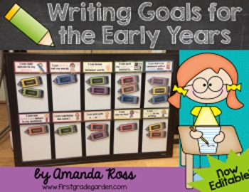 Writing Goals for the Early Years