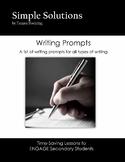 Writing Idea Generators