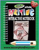 Writing Interactive Notebook - Editable-1st and 2nd