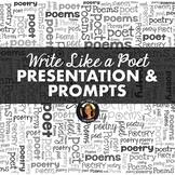 Writing Poetry Like Poets: Teach Your Students to Write Pr