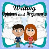 Writing Opinions and Arguments