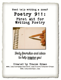 Writing Poetry: 50 Formulas to Help Students Write Poems