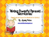 Writing Powerful Personal Narratives