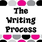Writing Process Posters-Fun Dot