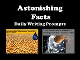 Writing Prompts - Amazing, Interesting and Weird Facts