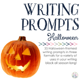 Writing Prompts: Spooky Halloween