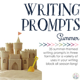 Writing Prompts: Summer Sunshine