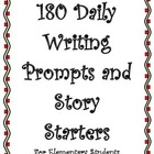 Writing Prompts and Story Starters for Elementary Students