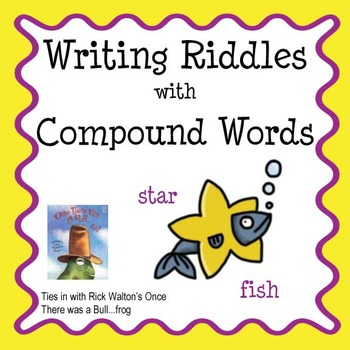 Compound Words: Writing Riddles
