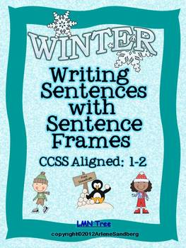Writing Sentences with Sentence Frames