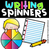 Writing Spinners {Story Starters, Characters, Setting, & T