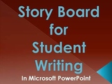 Writing Story Board for Students in PowerPoint 2003