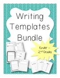 Writing Templates - Writing Paper - Bundle - Primary