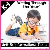Writers Workshop :Writing Through the Year Unit 5  {Aligne