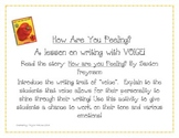 Writing Voice- How Are You Peeling?
