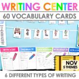 Writing Work Station for November