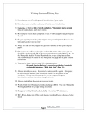 Writing Workshop: Time Saving Writing Content Editing Key