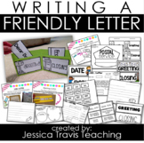 Writing a Letter {Activities for Writing a Friendly Letter!}