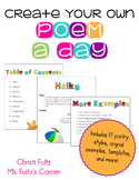 Poetry Unit For Big Kids: Writing a Poem a Day