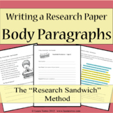 Research Papers - Writing Body Paragraphs