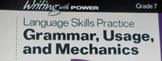 Writing with Power: Lanaguage Skills Practice Grade 7