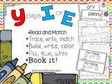 Y says I or E - 5 Interactive Activities