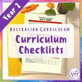 Year 2 ACARA Curriculum Checklists