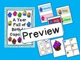 Year Full of Birthdays Bulletin Board Chart