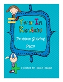 Year in Review Problem Solving Task Cards