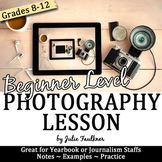 How to Take Great Pictures for Yearbook: Beginning Photogr